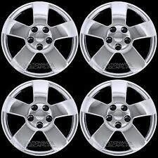 "4 Chrome fits Chevy HHR Malibu Pontiac G6 16"" Bolt On Wheel Covers Rim Hub Caps"