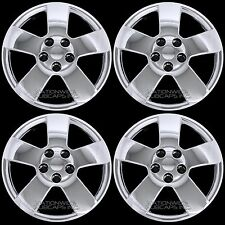 "4 Chrome Chevy HHR Malibu Pontiac G6 16"" Bolt On Full Wheel Covers Rim Hub Caps"