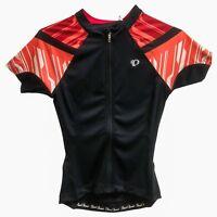 Pearl Izumi Cycling Jersey Women Bike Top ELITE Black Coral Sport Top XL NWT