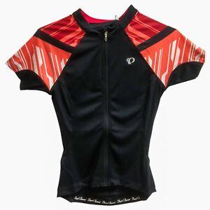 Pearl Izumi Cycling Jersey Sz XS Bike Top Junior Women ELITE Black Coral NEW