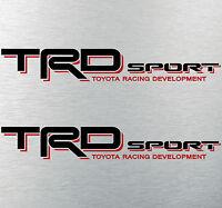 Toyota Tacoma TRD SPORT bed decal sticker Tundra truck racing development B/R