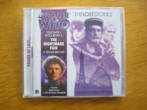 Doctor Who The Nightmare Fair, 2009 Big Finish audio CD *SEALED, OUT OF PRINT*