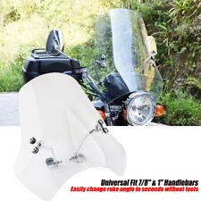"Motorcycle Windshield Windscreen Mounting Kit For Universal 7/8"" & 1"" Handlebars"