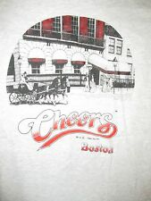 Vintage 1995 Cheers Boston Bar T Shirt Sz XL TV Sitcom Massachusetts Danson