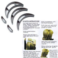 5Pcs Bumpits Big Happie Hair Volumizing Inserts Pump Set Bump It Up Styling Tool