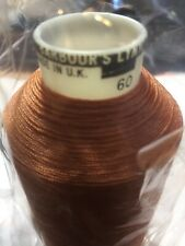 New Old Stock Barbour's Lynyl Nylon Bonded Thread 60 Tan 2500 Metre Roll qty 1