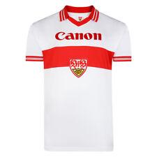 Score Draw Retro VfB Stuttgart VFB 1980 Football Shirt Men's Canon S M New