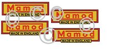 Mamod Decals Logos steam  x 4. SECONDS