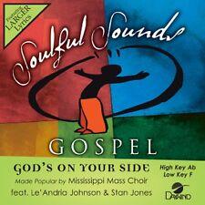 Mississippi Mass Choir - God's On Your Side - Accompaniment CD New