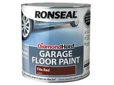 Ronseal Diamond Hard Garage Floor Paint Tile Red 2.5 Litre