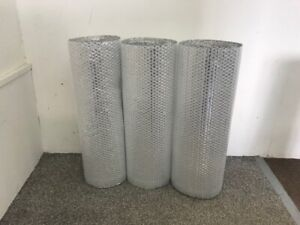 metal shed insulation - Single Foil Bubble Insulation - 3 rolls - 15m2