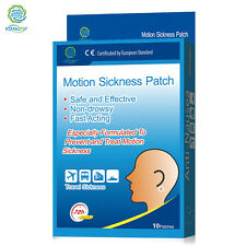 Sickness Patch KONGDY 10 Pieces/Box Behind Ear Car Motion Chinese Herbal Medical