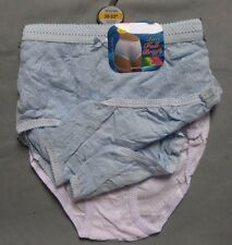 12 Pack of Full Briefs Floral White Knickers Ladies 44-46 Inch Waist Box55 46 a