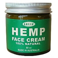 Hemp Face Cream Natural Organic Anti-Wrinkle Anti Ageing Neck Women's Vegan