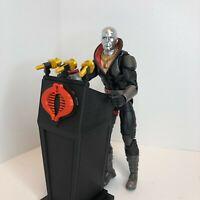 GI Joe Cobra Commander Destro Presidential Podium for 6''classified series NEW