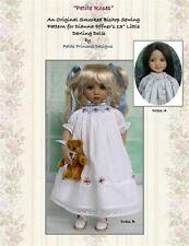 """""""Petite Roses"""" Smocked Bishop Dress Pattern for 13"""" Effner Little Darling Dolls"""
