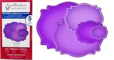 Spellbinders Nestabilities LABELS 18 5 DIES S4-310 PRETTY! CUT EMBOSS STENCIL