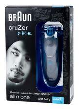 Braun cruZer 6 Face Herrenrasierer Rasierer Wet & Dry Styler und Trimmer NEU OVP