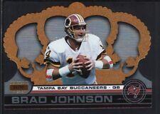 BRAD JOHNSON 2001 CROWN ROYALE #131 PREMIERE DATE BUCCANEERS SP #64/99