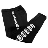 NWT ECKO UNLTD. AUTHENTIC MEN'S BLACK FLEECE JOGGER PANTS SIZE M L