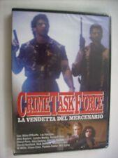 CRIME TASK FORCE LA VENDETTA DEL MERCENARIO - DVD SIGILLATO PAL - LOU FERRIGNO