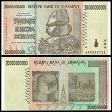 Zimbabwe 20 Billion Dollars, 2008, P-86, Banknotes, UNC, 100 Trillion Series