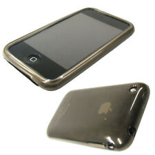 caseroxx TPU-Case for Apple iPhone 3G S in black-clear made of silicone