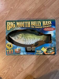 big mouth billy bass singing fish