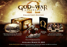 God Of War Ascension UK Collectors Edition PS3 New - figure/steelbook/statue