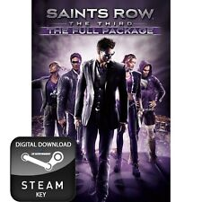 SAINTS ROW 3 THE THIRD THE FULL PACKAGE PC STEAM KEY