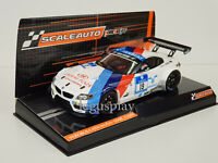 Slot car Scalextric Scaleauto SC-6032 BMW Z4 GT3 #19 24H. Nurburgring 2013