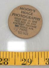 Vintage Wooden Nickel Mood's Image Photography Pittsburgh PA tthc