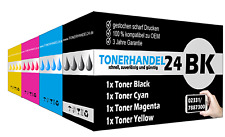 1x Rainbow-Set ( 4x Toner ) (BK,C,Y,M) kompatibel für SAMSUNG CLP 415N CLX4195FW