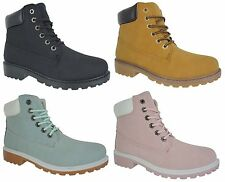 Unbranded Women's Lace Up Combat Boots