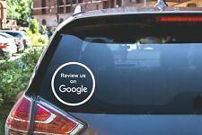 Google Review us on Google Car Van Window Shop Signs Vinyl Sticker BUY2GET1FREE