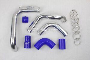 Kit Tubulure Piping Aluminium durites Megane 2 RS 225 230 R25 R26 R26R Bleu