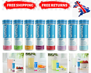 Nuun Sport Clean Hydration Tablets for Sport: Choose from 8 Flavours
