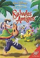 Saludos amigos de Walt Disney clasico numero 6 en DVD zona 2 usado buen estado