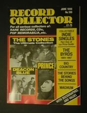 Record Collector Magazine No. 130 (Jun 1990) - Rolling Stones - Prince