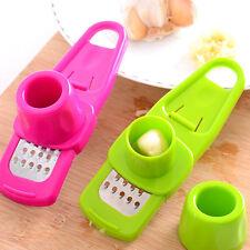 Multi-functional Grinding  Garlic Press Kitchen Gadgets Slicer Cutter Tool