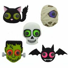 Jesse James Buttons - Dress It Up ~ Jeepers Creepers 9487 Halloween Frankenstein