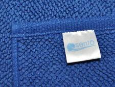 "Sento Japan Luxury Bath Mat 100% Cotton Royal Blue 23"" X 35"" loop rug style"