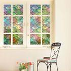 Fensterfolie Fenster Sichtschutzfolie Glasdekorfolie Selbstklebend Dekoration