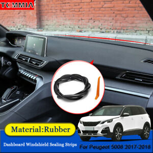 Dust Proof Anti-Noise Car Dashboard Windshield Sealing Strips For Peugeot 5008