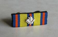 Canadian Emergency Medical Services Exemplary Service Medal Undress Ribbon Bar