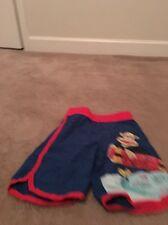 Paul Frank Boys Mesh Lined Swim Trunks Shorts Sz XS  Multicolor Clothes
