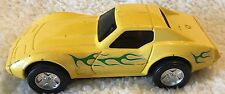 Vintage Metal Tonka Toy Yellow Corvette With Flames Diecast Made in Japan