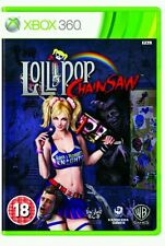 Lollipop Chainsaw (Xbox 360) New Sealed PAL female zombie hunter. nordic edition