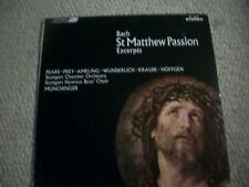 Bach-St Matthew Passion,Munchinger (Rare)Near Mint London Stereo