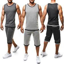 Wadenlang Herren-Fitnessmode mit Taschen